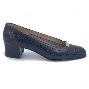 Salvatore Ferragamo Womens Pump Shoes Brown Cr 6 B